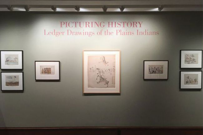 Picturing History: Ledger Drawings of the Plains Indians