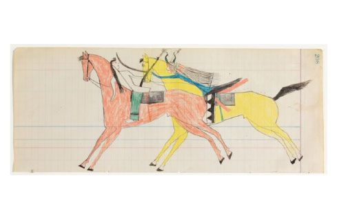 Ledger Art is an Eloquent Elegy to America's Past
