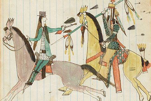 Donald Ellis Gallery Loans Ledger Art to Drawing Centre