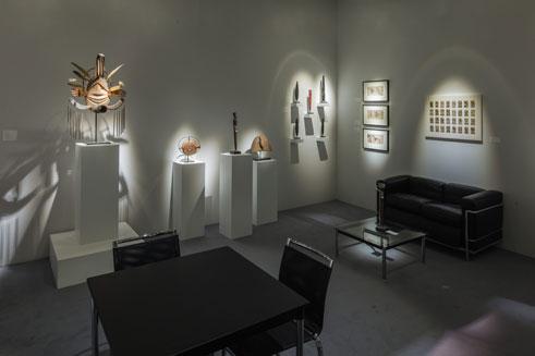 Installation shot of TEFAF Maastricht 2017 | Donald Ellis Gallery