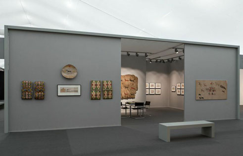 Installation shot of Frieze Masters London 2014 | Donald Ellis Gallery
