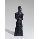 ARGILLITE FEMALE FIGURE